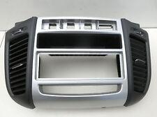 Hyundai Santa Fe II CM Luftdusche Luftdüse Mitte und Einbaurahmen 1fach DIN