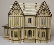 Kristiana Tudor 1:24 scale dollhouse Kit WITHOUT SHINGLES!!!!!!!!!!!