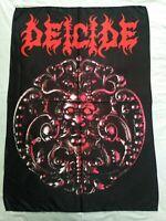 DEICIDE - Deicide FLAG Heavy thrash death black METAL cloth poster