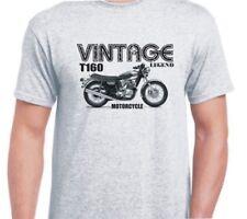 TRIUMPH T160 inspired vintage motorcycle classic bike shirt tshirt
