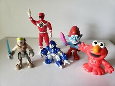 Lot Marvel Super Hero Squad Star Wars Galactic Heroes Power Rangers Smurfs