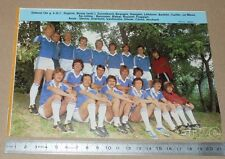 CLIPPING POSTER FOOTBALL 1980-1981 D2 US DUNKERQUE