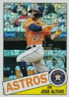 2020 Topps Chrome Silver Pack Base Jose Altuve #85C-14