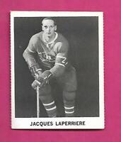 RARE 1965-66 COCA COLA CANADIENS JACQUES LAPERRIERE CARD (INV# C6951)