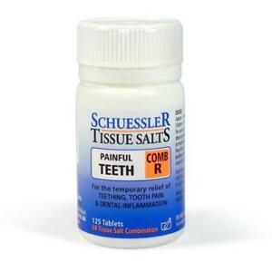 Schuessler Tissue Salts Comb R (Painfull Teeth) 125Tabs