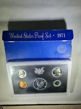 1971 S Proof Set Original Box US Mint 5 Coins
