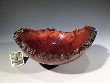 MANZANITA BURL G+ bowl #14655 by Smithsonian Artist David Walsh