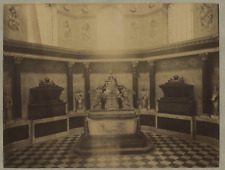 France, Nancy, Chapelle ronde, tombeau des Ducs  Vintage Albumen Print Tirage