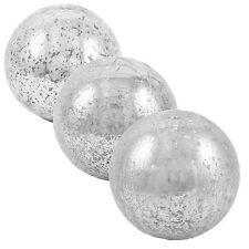 Glaskugel ø 10 / 12 / 15 cm Crackle Glas Kugel Ball Deko Objekt Innen & Außen