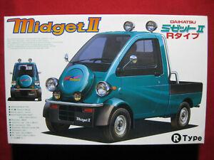 1996 Daihatsu Midget 2 R-Type 1/24 Fujimi Japan Plastic Model Kit Rare II Truck