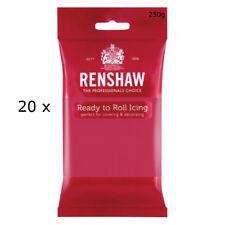 5 Kg Renshaw Ready Roll Icing Fondant Cake Regalice Sugarpaste FUCHSIA PINK