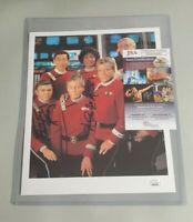 Star Trek Walter Koenig Nichelle Nichols Signed 8x10 Photo Autograph JSA COA 00