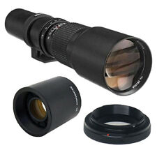 500mm TELEPHOTO LENS for D7000 D5200 D90 D80 D70 D60 D40 D40X