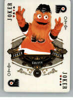 2020-21 O-Pee-Chee Playing Cards Hockey #Joker1 Gritty Flyers Orange Jersey