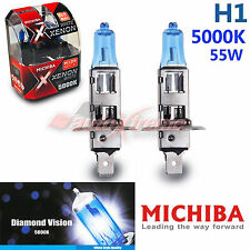 For ASTON MARTIN MICHIBA H1 5000K 55W Xenon Super WHITE Headlight Bulbs Low Beam