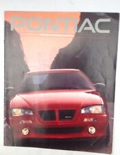 PONTIAC sales brochure 1993 Classic American Vintage