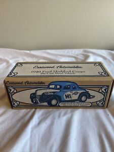 Ertl 1940 Ford Modified Coupe F880 FISH CARBU Die-Cast Bank 1/25 Scale-MIB