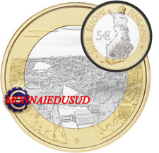 5 Euro Commémorative Finlande 2018 - Tammerkoshi Rapids Tampere 6/9