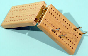 Cribbage Board - Folding Wood Board 00180