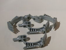 Lego 4 armes gris perle / 4 pearl light gray bionicle weapon 8918 8920 8917 8921