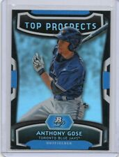 ANTHONY GOSE 2012 BOWMAN PLATINUM TOP PROSPECTS CARD #TP-AG
