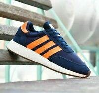 adidas Originals I-5923 Retro Running Vintage Suede Training Shoes Trainers Navy