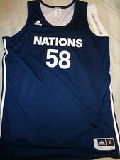Adidas Nations #58 2014 Reversible Jersey Size Xl Adult