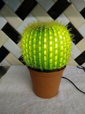 Retro Kitsch Vintage Cactus Lamp Light RARE