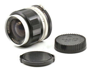 Hanimex Wide-Auto 35mm F2.8 Non-Ai Lens For Nikon F Mount! Good Condition!