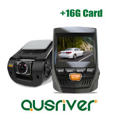 New Mini 1080P 170° Car Camera Dash Video DVR Cam Recorder Night Vision+16G Card