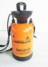 Garden Pressure Sprayer Action Pump Release Spray Bottle Backpack Plastic 5L NEW