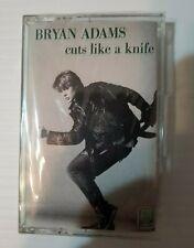 Bryan Adams - Cuts Like A Knife - 1983 Cassette - NEW, SEALED
