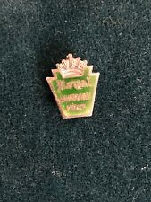 Vintage Royal Typewriter Accuracy First Sterling Silver Service Award Pin