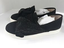 Vince Camuto Womens Barita Black Casual Suede Leather Flats Size 8.5 M