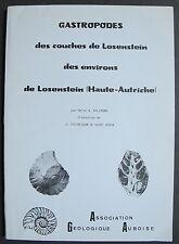GASTROPODES DES COUCHES DE LOSENSTEIN HAUTE AUTRICHE FOSSILES COQUILLAGES 1988