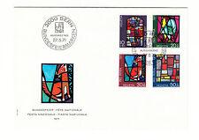 Schweiz  FDC Ersttagsbrief 1971 Kunst u. Kunsthandwerk  Mi.Nr.949-52