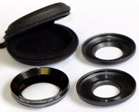 VCL-HGE08B Wide End Conversion Closeup Lens f/  FOR Sony HDR Handycam Camcorder