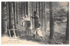 CPA 88 LES VOSGES LE DELIT FORESTIER