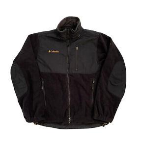 Columbia Titanium Zip Up Men's Technical Fleece - Black Small