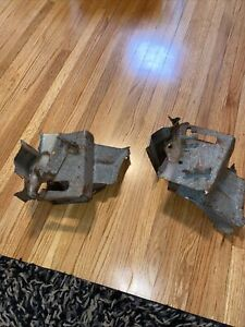 Chevy Impala Bel Air Biscayne TRUNK HINGE BOX PAIR 1963 1964 GM Original!!