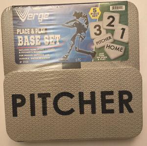 Verge's Place & Play Baseball Base Set