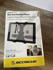 Scosche Rear Seat Headrest Tablet Mount Open Box