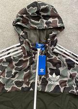 Nuevo Para Hombre Adidas Originals Camo Fz Hermosa Chaqueta Top Informales Gimnasio Ltd Edtn M