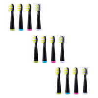 Fairywill Replacement Heads x 12 Firm Bristles For Sonic Electric Toothbrush