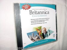 NEW Encyclopedia Britannica Concise 2004 CD Windows/MAC Dictionary& Thesaurus
