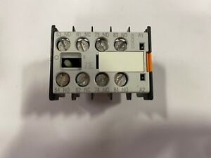 SIEMENS 3TX4431-0A AUXILIARY CONTACT BLOCK *NEW* 3NO+1NC CONTACTOR RELAY