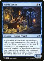1X FOIL Manic Scribe MTG Magic SHADOWS OVER INNISTRAD 73/297