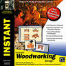Instant Woodworking Design  Brand New Multiple Easy-to-read Wood Project Designs