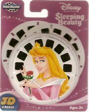 NEW ~ DISNEY PRINCESS SLEEPING BEAUTY ~ AURORA ~ VIEW-MASTER REELS 3pk