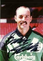 Bruce Grobbelaar Official Liverpool FC Hand Signed Photo Season 1992-93 Rare